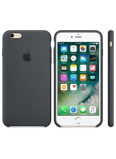 Jacobson iPhone 6/6S Sert Silikon Kapak Kahve